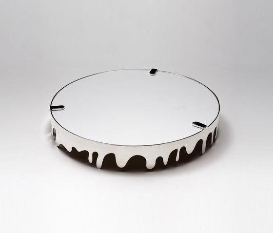 Corian /  silver-plated brass